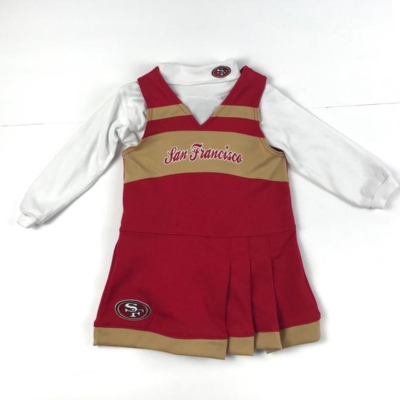 4b7735e6 NFL San Francisco 49ers Toddler Cheerleader